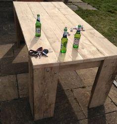 steigerhouten tafel maken