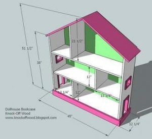 Zeer Poppenhuis maken? Check hier de bouwtekeningen die je nodig hebt! &WC93
