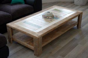 steigerhout salontafel maken met deze bouwtekeningen een
